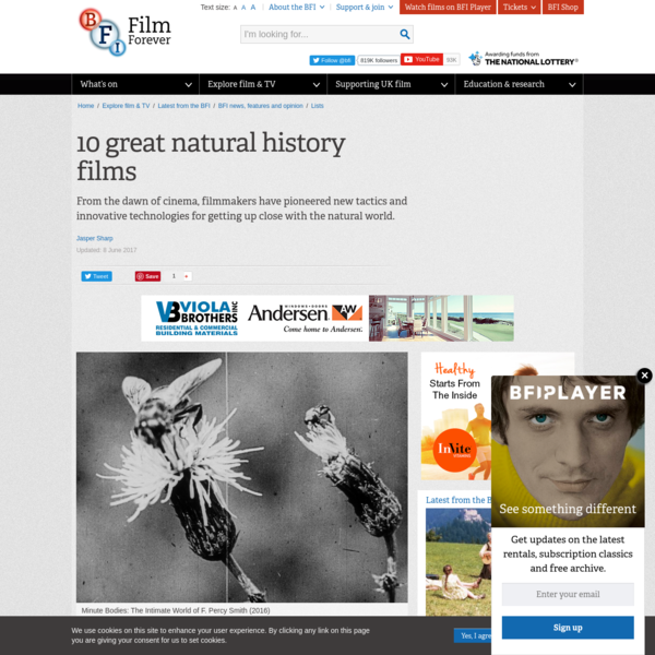 10 great natural history films