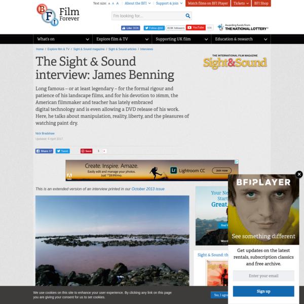The Sight & Sound Interview: James Benning