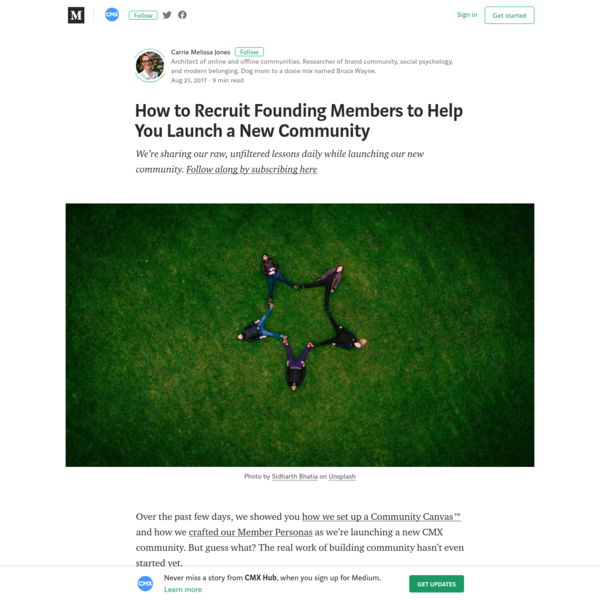 How to Create a Founding Members Group to Validate Your Community Membership Idea