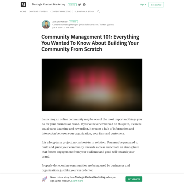 Community Management 101: Everything You Wanted To Know About Building Your Community From Scratch