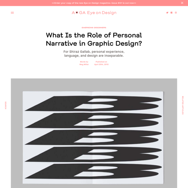 What Is the Role of Personal Narrative in Graphic Design?