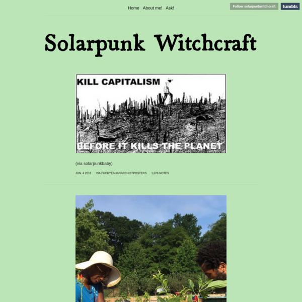 Solarpunk Witchcraft