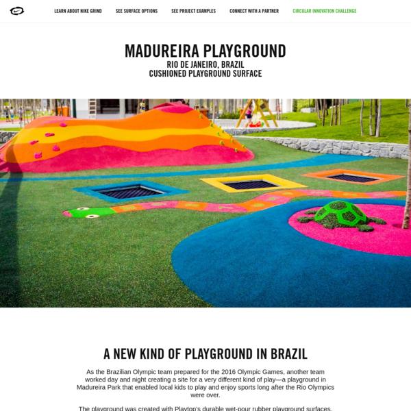 Madureira Playground | Nike Grind Playgrounds