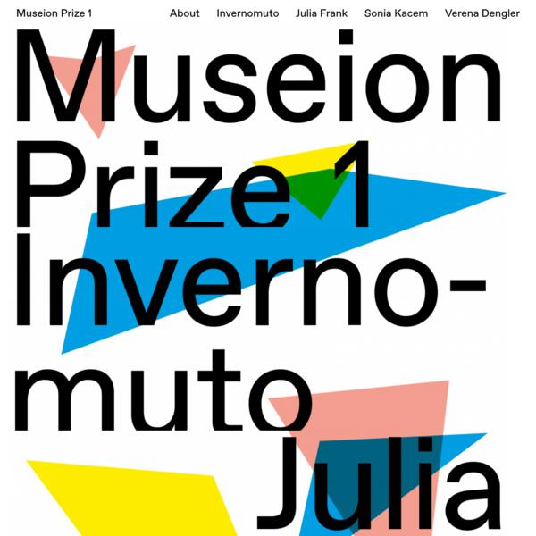 Museion Prize 1
