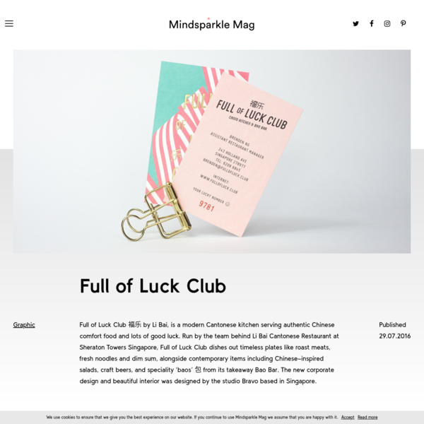 Full of Luck Club - Mindsparkle Mag