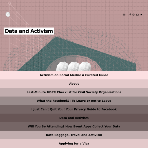 Data and Activism