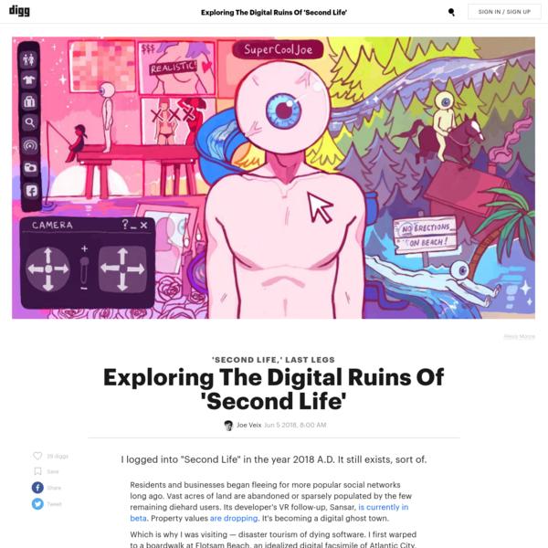 Exploring The Digital Ruins Of 'Second Life'