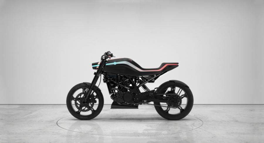 BMW Savannah motorcycle is your guardian pet.