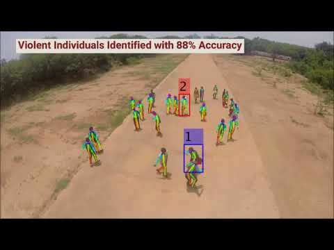Eye in the Sky: Real-time Drone Surveillance System (DSS) for Violent Individuals Identification