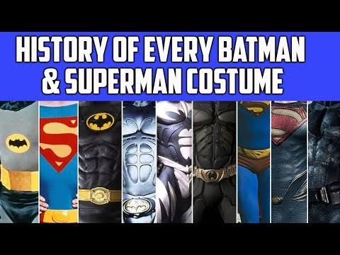 If you're new, Subscribe! → http://bit.ly/subscribe-screencrush With Justice League on the way, we're looking back at the evolution of Batman and Superman's costumes over the years, and what they reveal about each movie. Go here → http://screencrush.com/ Like us → https://www.facebook.com/ScreenCrush Follow us → https://twitter.com/screencrushnews Get our newsletter → http://screencrush.com/newsletter/ Written, narrated, and edited by Ryan Arey (http://twitter.com/ryanarey/).