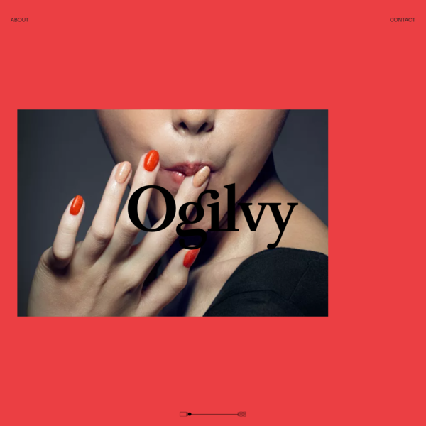 Ogilvy is an award-winning integrated creative network that makes brands matter, specializing in creating experiences, design and communications.