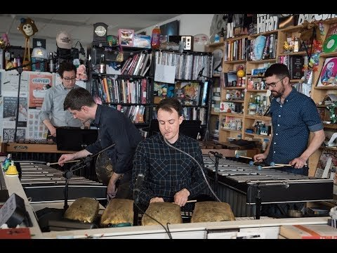 May 29, 2018 | Tom Huizenga -- Back at the beginning of time, the human voice was the very first instrument. Probably close in second place were folks banging on stuff - in other words, percussionists. The quartet of gentlemen who form the Chicago-based Third Coast Percussion takes primordial pounding into a completely distinctive new league.