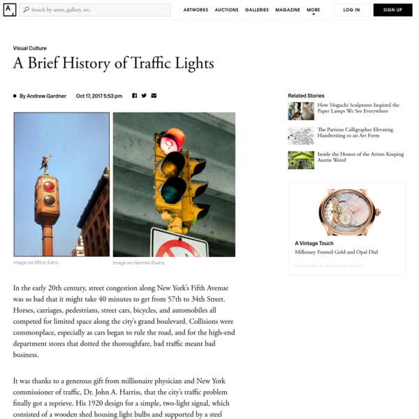 Green Once Meant Stop-and Other Curious Facts from the History of Traffic Lights