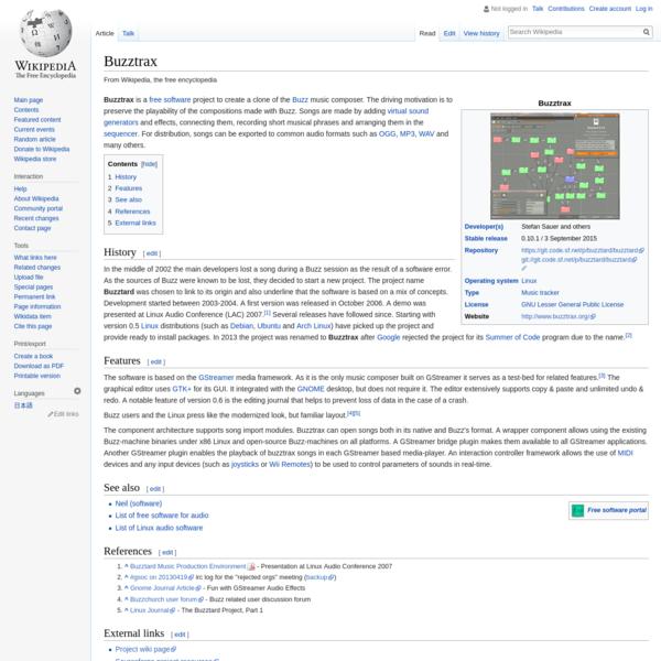 Buzztrax - Wikipedia