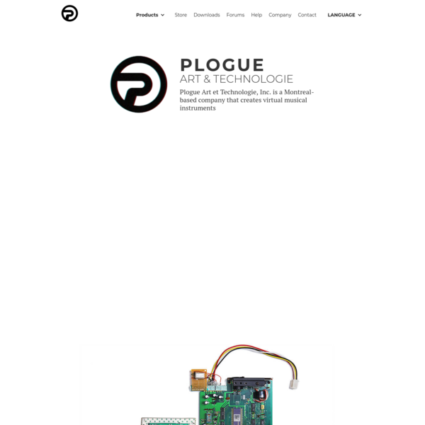 Plogue | Music Software | Developers - Software Synth | Audio Engine | Modular Audio Software