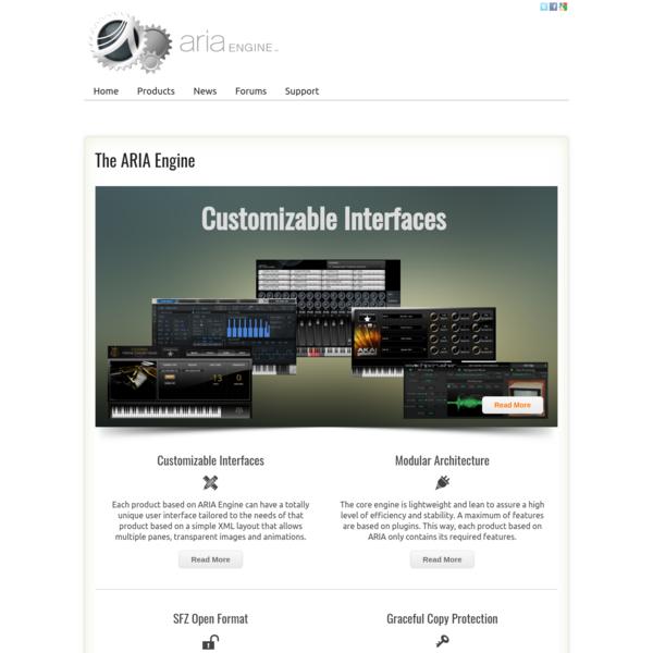The ARIA Engine - ARIAEngine.com