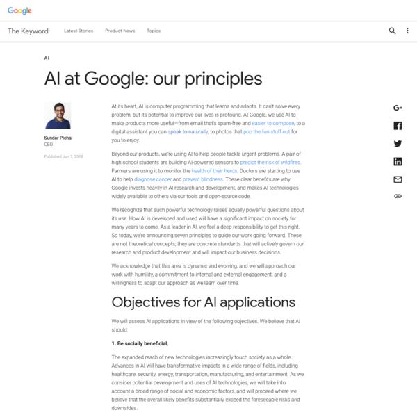 AI at Google: our principles