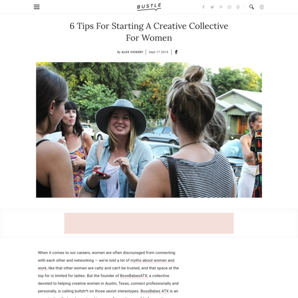 How to Start A Creative Collective For Women