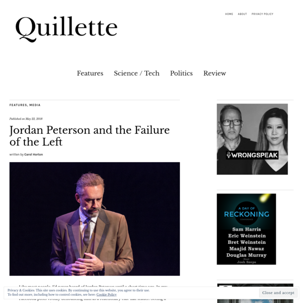 Jordan Peterson and the Failure of the Left - Quillette