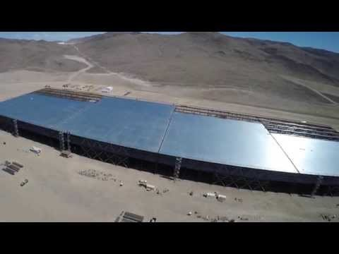 Tesla Gigafactory in 4k-- April 18, 2015.