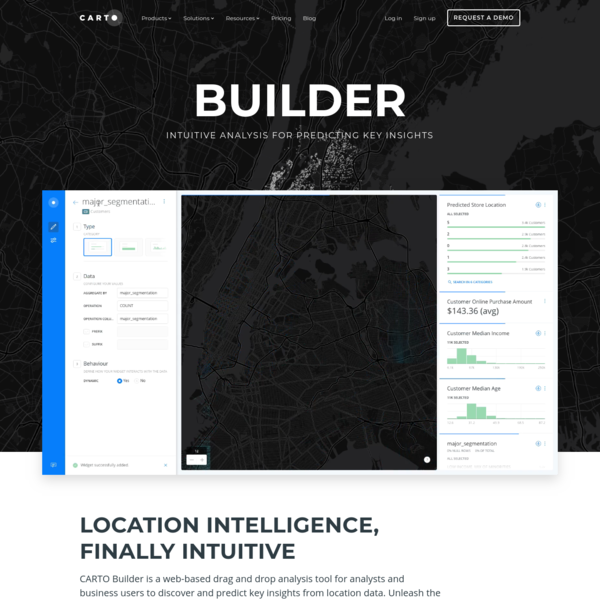 Data Mapping and Visualization Tool - CARTO