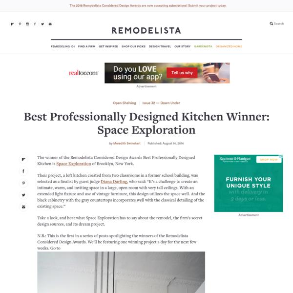 Best Professionally Designed Kitchen Winner: Space Exploration - Remodelista