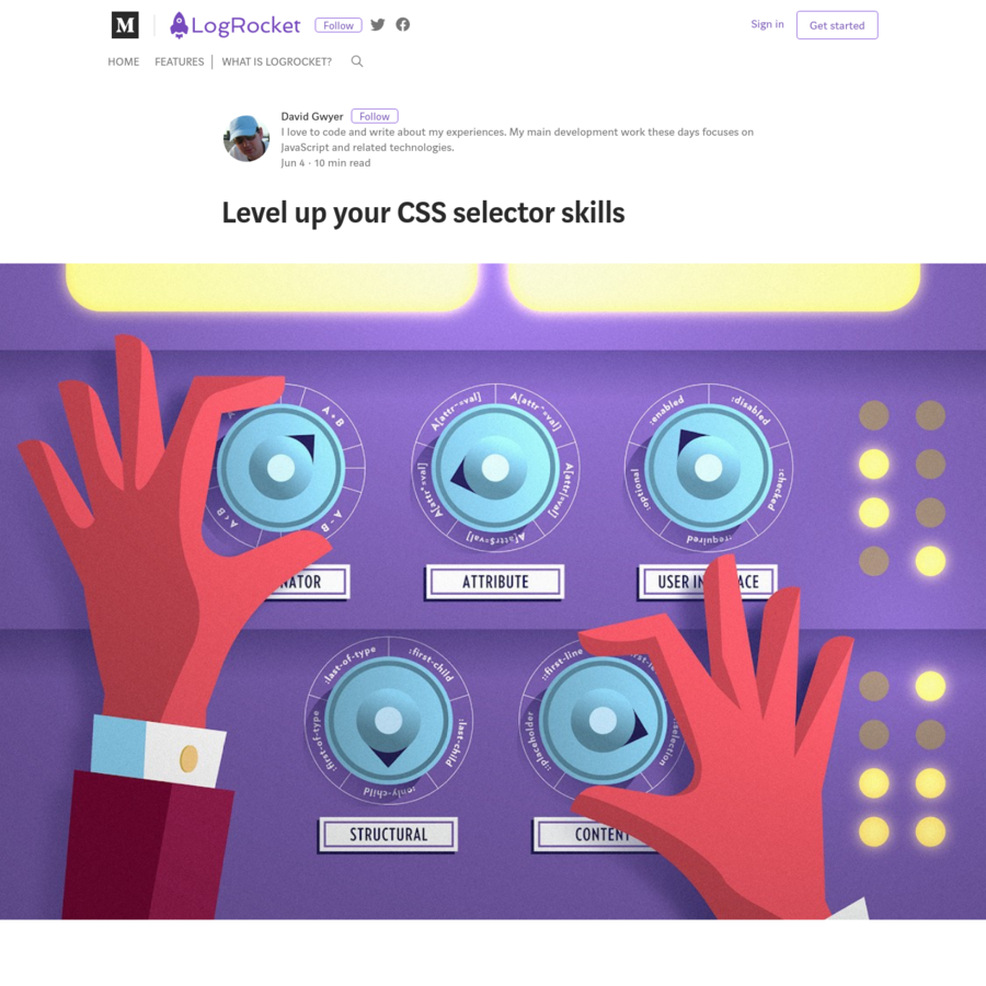 I've been using CSS for many years now but one thing I've not revisited in depth until recently is the topic of CSS selectors. Why would I need to do this?