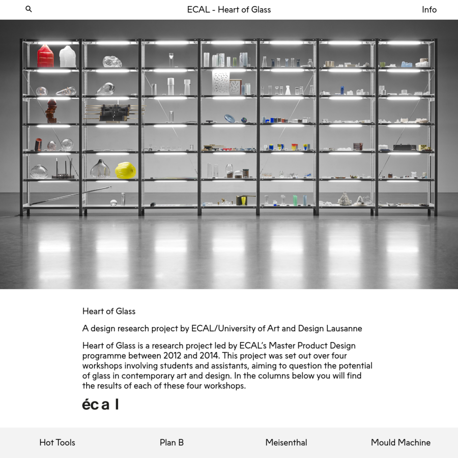 A design research project by ECAL/University of Art and Design Lausanne ECAL/Ecole cantonale d'art de Lausanne