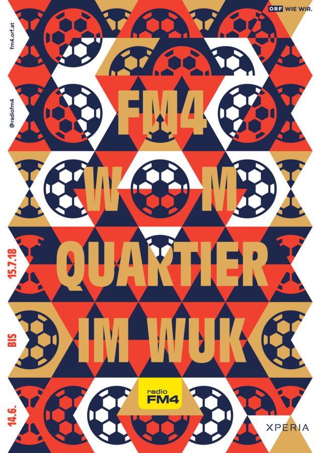 Radio FM4 WM–Quartier Poster
