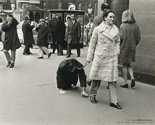 Valie Export Weibel Peter 1968 Aus der Mappe der Hundigkeit - Viennese Actionism - Monoskop