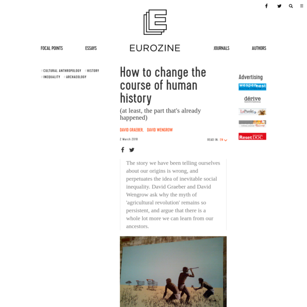 How to change the course of human history