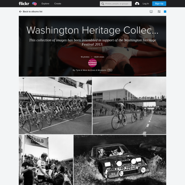 Washington Heritage Collection - Sport and Leisure