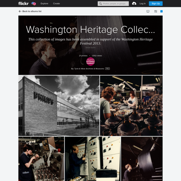 Washington Heritage Collection - Work and Industry