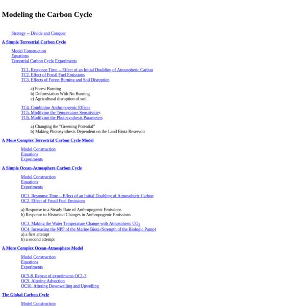 c cycle models