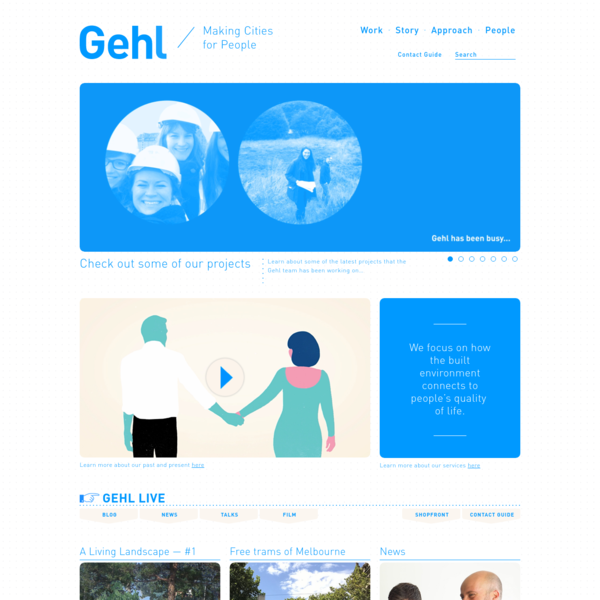 Gehl - Making Cities for People