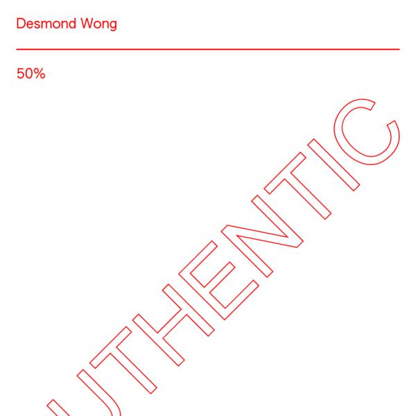 Graphic design, typeface design, etc.