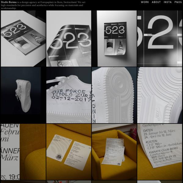 Studio Bureau - Graphic Design
