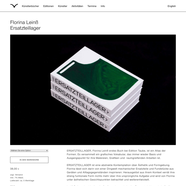 Independent Publisher for Artists' Books and Editions