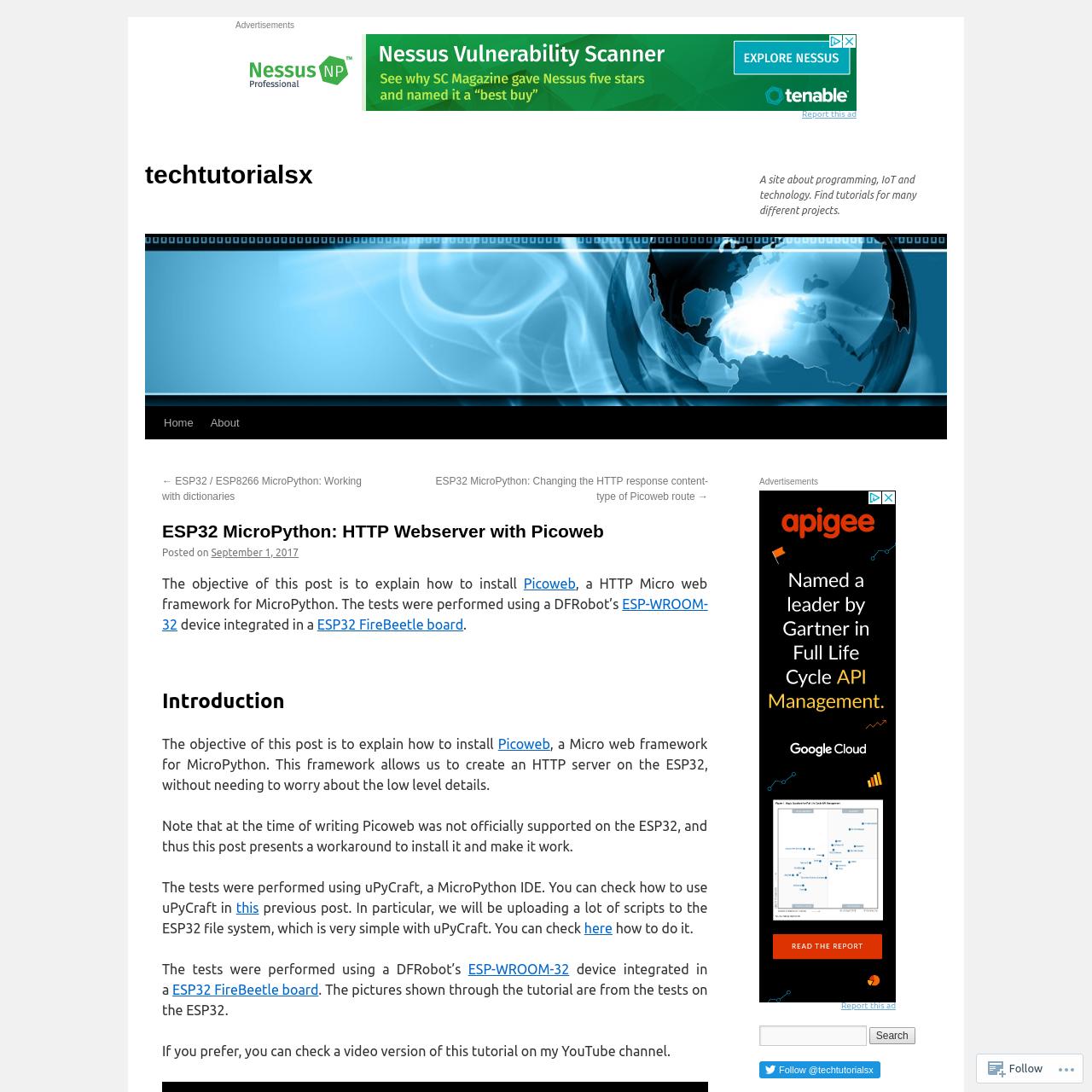 Esp32 Micropython Web Server