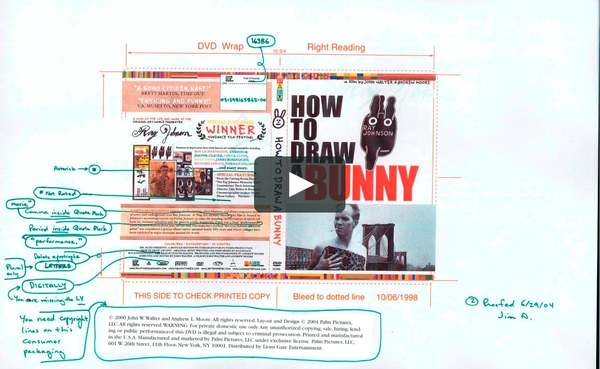 HOW TO DRAW A BUNNY Year Released: 2002 Running Time: 90 minutes Ray Johnson was a mystery wrapped in an enigma who lived his life like a Pop Art performance...