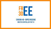 Cinema 4D - Biped Rigging - YouTube