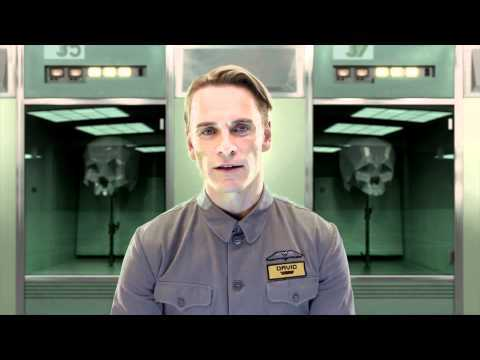 Subscribe to TRAILERS: http://bit.ly/sxaw6h Subscribe to COMING SOON: http://bit.ly/H2vZUn Like us on FACEBOOK: http://goo.gl/dHs73 Follow us on TWITTER: http://bit.ly/1ghOWmt See all PROMETHEUS Trailers & Clips: http://bit.ly/Il9kYR Prometheus - Viral Video - Meet David (2012) Ridley Scott Movie HD Peter Weyland has been a magnet for controversy since he announced his intent to build the first convincingly humanoid robotic system by the end of the decade.