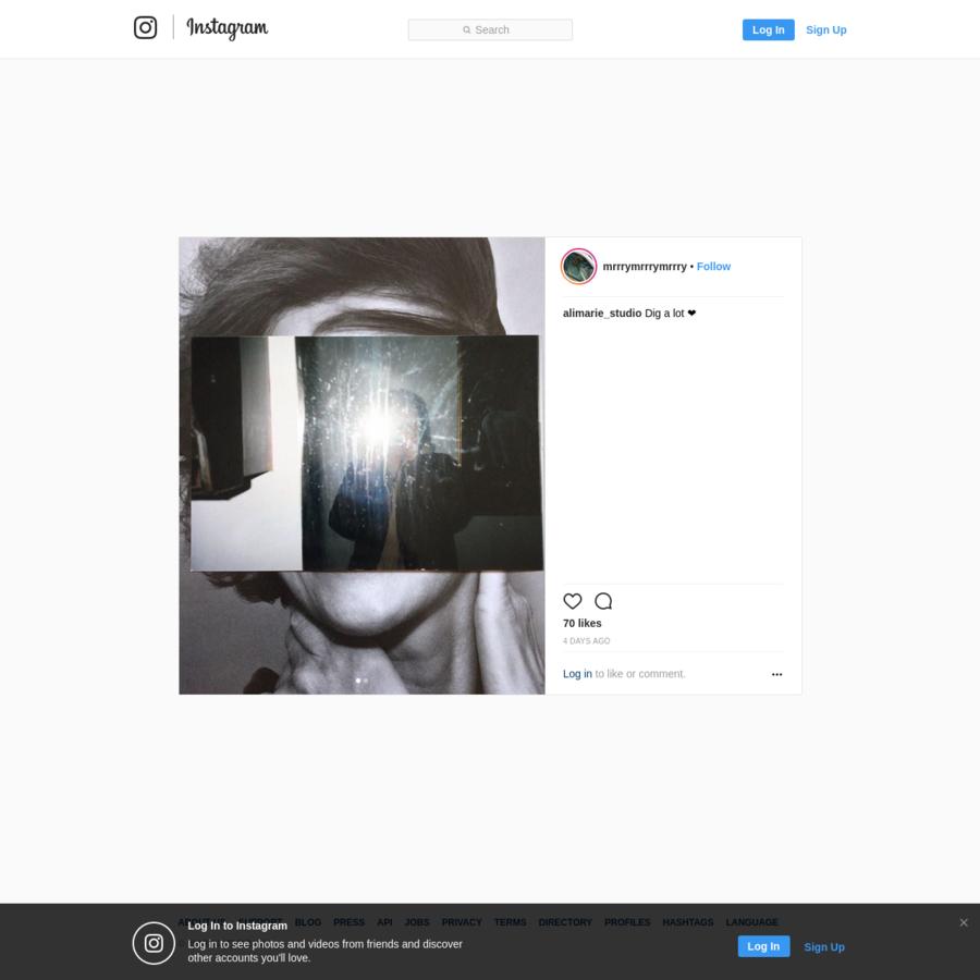 70 Likes, 1 Comments - User Not Found (@mrrrymrrrymrrry) on Instagram