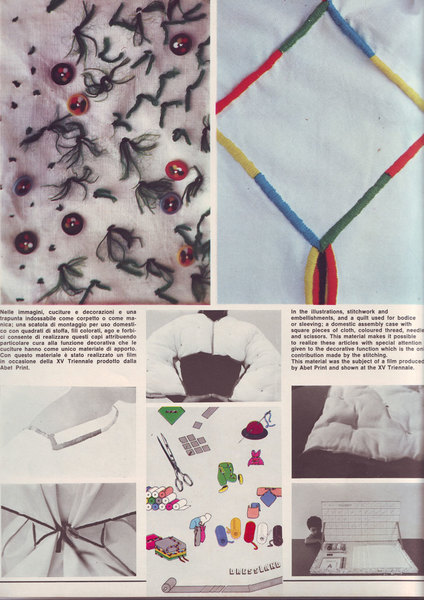 Archizoom stitchwork