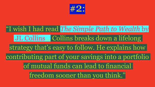 """Thing #2 from Ally-Jane Grossan's """"Five Financial Things I Wish I'd Done at Age 21""""  See all and read more here: https://thecreativeindependent.com/people/ally-jane-grossan-on-financial-planning-for-creative-people/"""