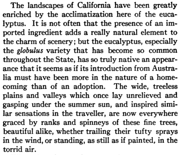 An affective blending of landscapes to a point of seamless naturalization