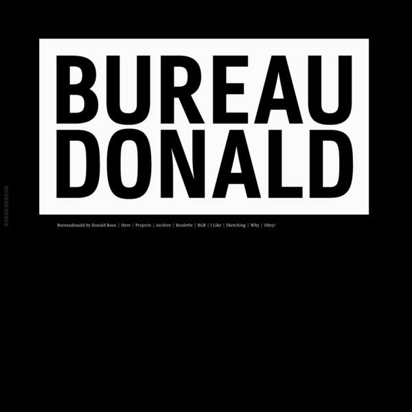 Bureaudonald creates indie brands - with a love for type