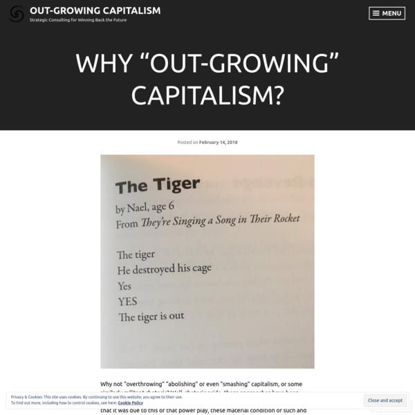 """Why """"Out-Growing"""" Capitalism?"""