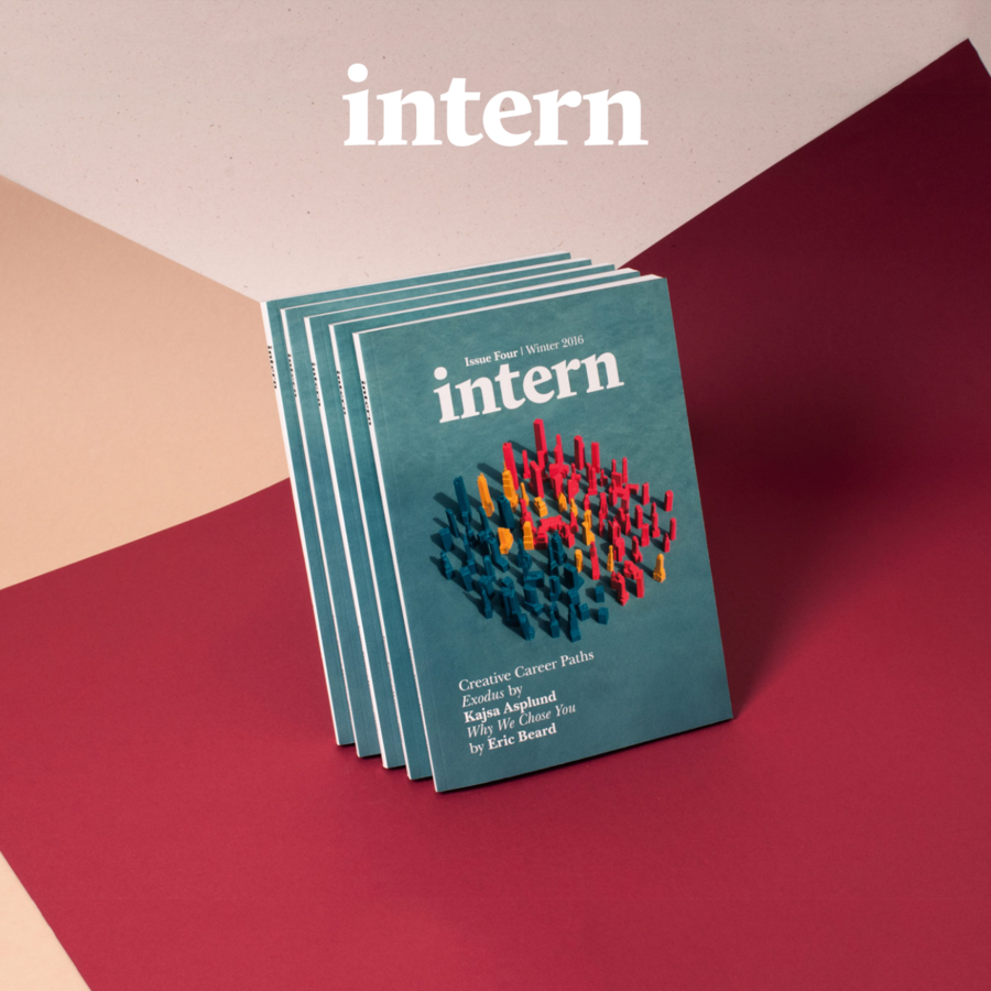 Intern Magazine is a new, bi-annual independent print publication concerned with internships in the creative industries