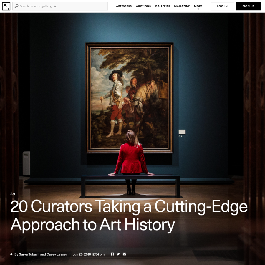 These innovative curators working beyond contemporary art are harnessing digital technology and revisiting art history through a 21st-century lens.